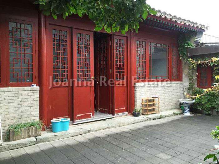 北京Dongsi Courtyard四合院出租,,18000元/月