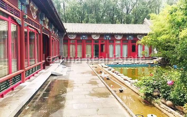 北京Dongsihuan Courtyard四合院出租,,300000元/月