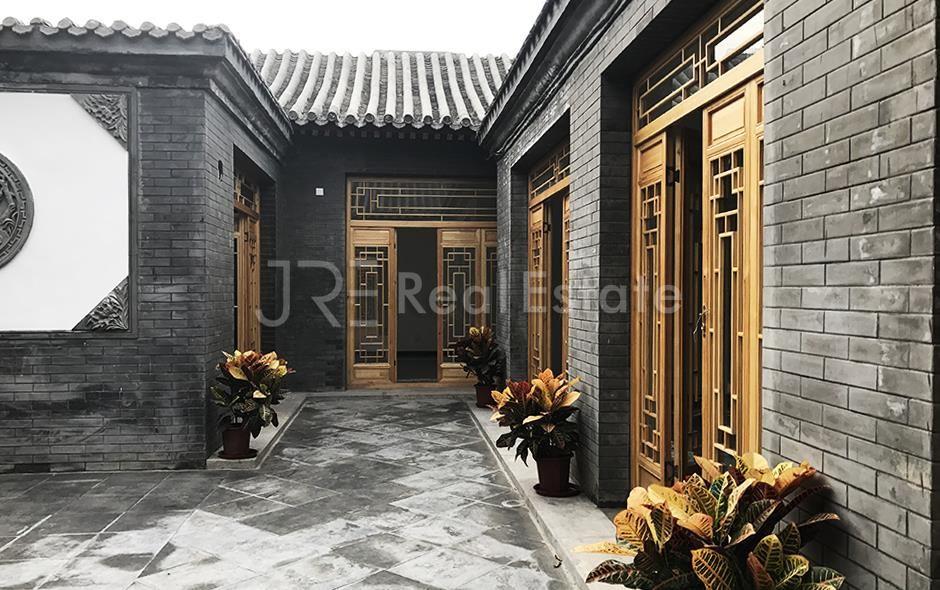 北京Hepingli Courtyard四合院出租,,65000/月